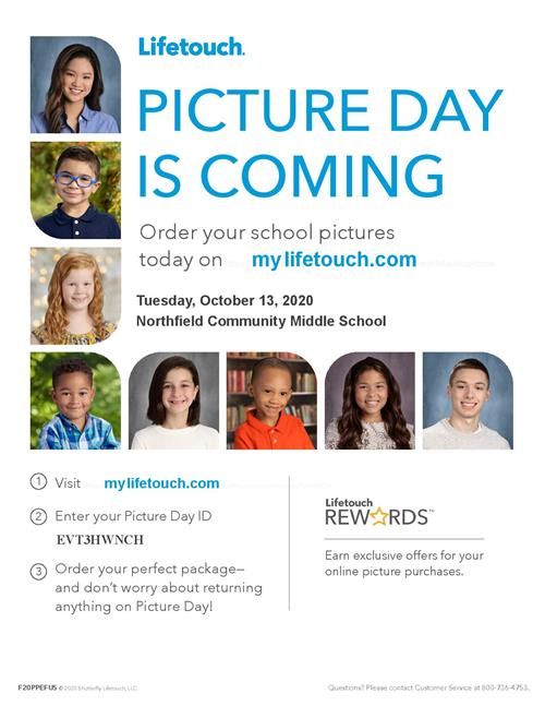 Lifetouch Picture Day is Coming